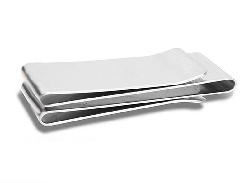 Stříbrná spona na peníze a karty  70803b0897a